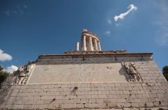 Één of ander Roman Ruins Stock Afbeelding