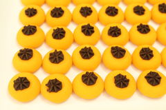 Één of ander soort Thais dessert Kanom Sanay Chan royalty-vrije stock fotografie