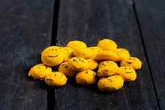 Één of andere gele glimlach Stock Fotografie