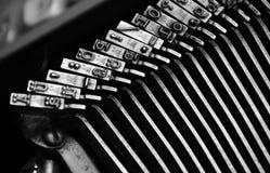 Typebars Royalty-vrije Stock Afbeeldingen