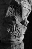 Één architettonic kolom van de Nachttempel van Cernusco sul Nav royalty-vrije stock fotografie