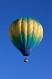 Één Ballon van de Hete Lucht Stock Afbeeldingen
