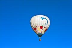 Één Ballon van de Hete Lucht Stock Afbeelding
