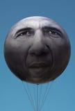 ÉÉN Campagne met President Obama Ballon Stock Afbeelding