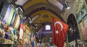 Één dag in de grote bazaar stock afbeeldingen