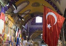 Één dag in de grote bazaar stock foto's