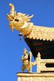 Één de bouw hoek van Jokhang-Tempel Royalty-vrije Stock Foto's