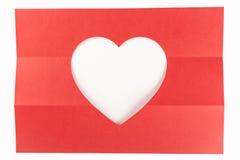Één derde wit hart Royalty-vrije Stock Afbeeldingen