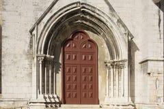 Één deur Stock Foto