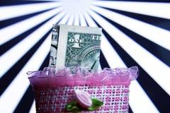 Één Dollar Stock Afbeelding