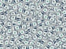 Één dollarachtergrond Royalty-vrije Stock Fotografie