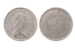 Één dollarmuntstuk Royalty-vrije Stock Foto