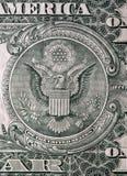 Één dollarrekening Stock Fotografie