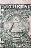 Één dollarrekening Stock Afbeeldingen