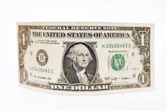 Één dollarsrekening Stock Foto's