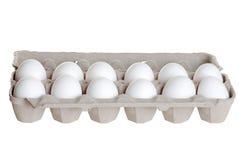 Één dozijn eieren royalty-vrije stock afbeelding