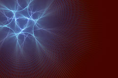 Één enkel neuron Royalty-vrije Stock Afbeeldingen