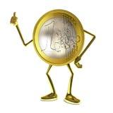 Één Euro vector illustratie