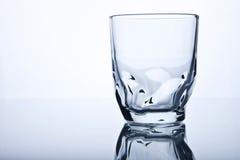 Één glas Stock Foto