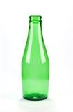 Één Groene Fles van het Bier Stock Afbeelding