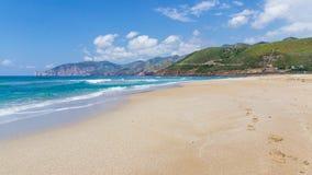 Één het strand Royalty-vrije Stock Fotografie