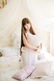 Één jong meisje Stock Foto