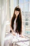Één jong meisje Royalty-vrije Stock Foto's