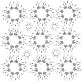 Één-kleur patroon bloemenpatroon Royalty-vrije Stock Afbeelding