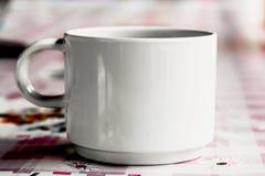 Één kop van koffie Royalty-vrije Stock Foto