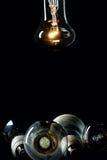 Één lamp van de gloedbol Royalty-vrije Stock Afbeeldingen