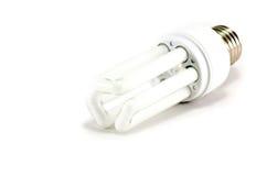 Één lichte bol van de Spaarder van de Energie Stock Afbeeldingen