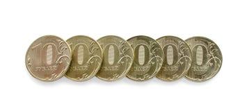 Één miljoen roebels Stock Foto's