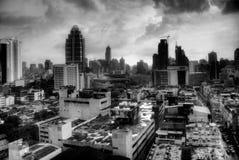 Één nacht in Bangkok Stock Foto