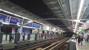 Één nacht in Bangkok Stock Foto's