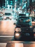 Één nacht in Tokyo stock foto