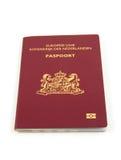 Één Nederlands paspoort Stock Foto's