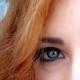 Één oog Stock Foto's