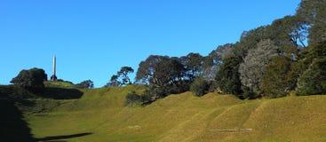 Één Panoramische Boomheuvel Royalty-vrije Stock Foto's