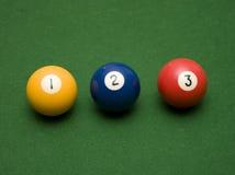 Één Pool Twee Drie! Royalty-vrije Stock Foto's