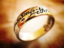 Één ring om hen te beslissen allen Royalty-vrije Stock Fotografie