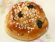 Één smakelijk broodje Royalty-vrije Stock Fotografie
