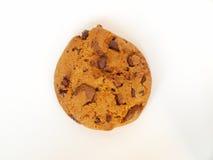 Één spaander van het chocoladekoekje Royalty-vrije Stock Foto