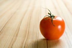 Één tomaat Stock Foto's