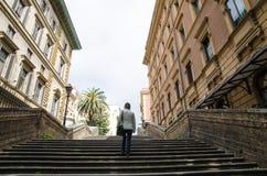 Één van alle stappen in Rome royalty-vrije stock foto