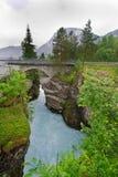Één van de grootste watervallen in Noorwegen Royalty-vrije Stock Foto