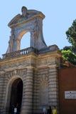Één van de Ingangen aan de Palatine Heuvel in Rome Italië Stock Afbeeldingen