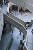 Één van de minder bekende architecturale oriëntatiepunten van Shanghais: het Slachthuis van 1933 Stock Foto