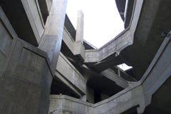 Één van de minder bekende architecturale oriëntatiepunten van Shanghais: het Slachthuis van 1933 Stock Afbeeldingen