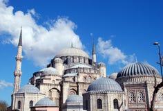 Één van de moskees in Istanboel, Turkije Royalty-vrije Stock Fotografie