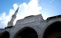 Één van de moskees in Istanboel, Turkije Royalty-vrije Stock Afbeeldingen
